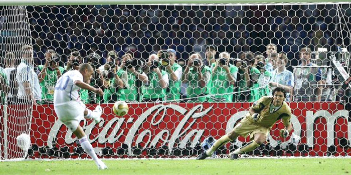 "The most important few minutes of Gianluigi Buffon's career were the penalties that decided the Italy-France World Cup final in 2006. Going into the shootout, the Italian keeper didn't feel confident. ""I was not in tune with what was happening."