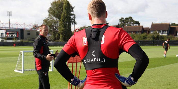 Training technology puts Bournemouth at forefront of goalkeeping revolution
