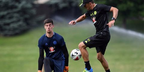 Courtois credits new goalkeeper coach with key improvements in his game this season